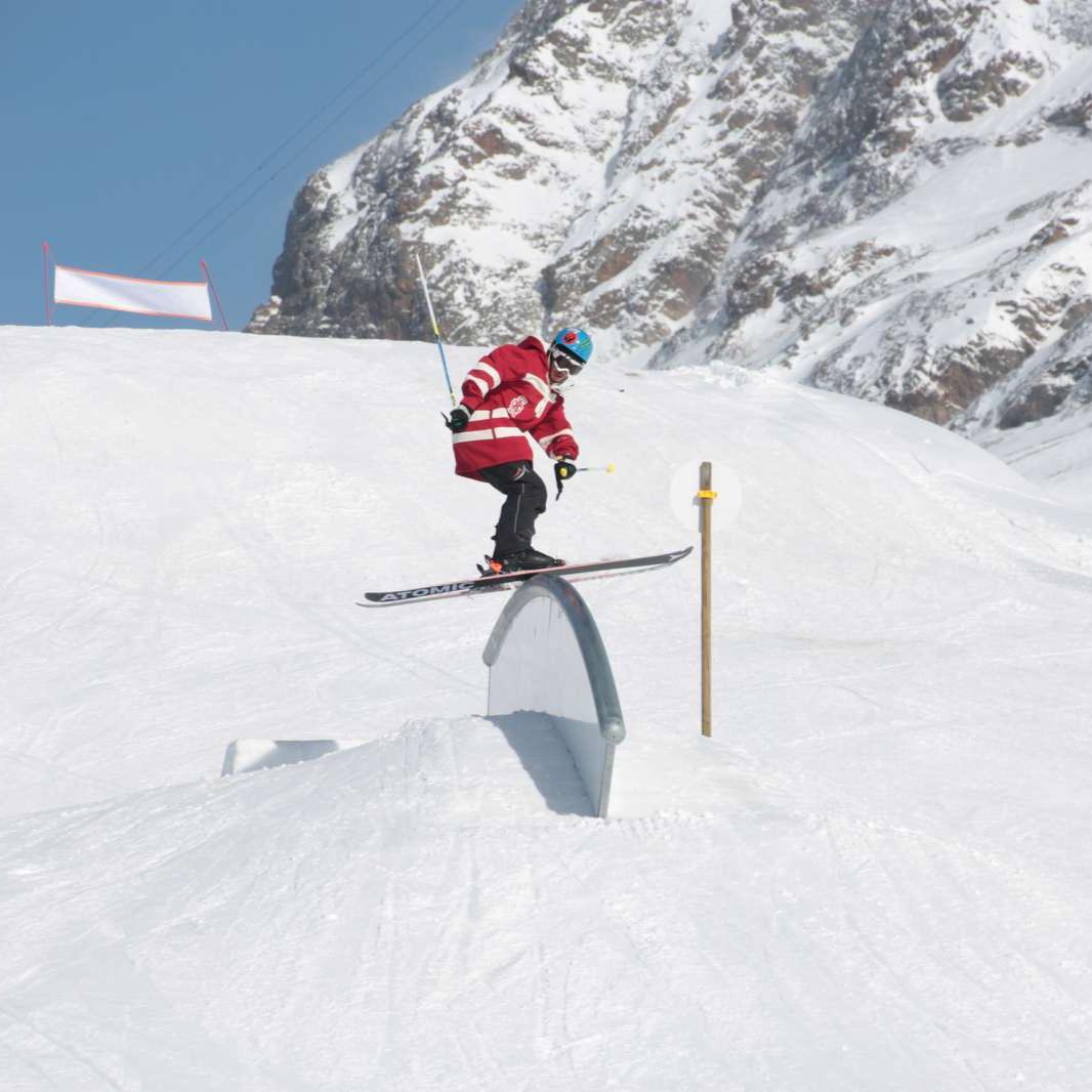 Image Article, Højskole, Ski, Freestyle, JIB Park