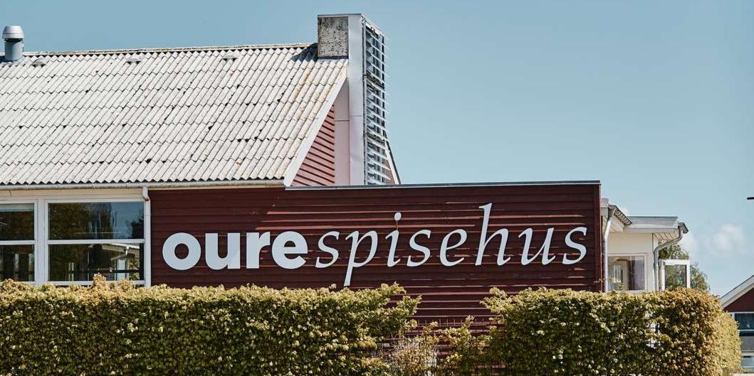 Header, Oure Spisehus, Bygning