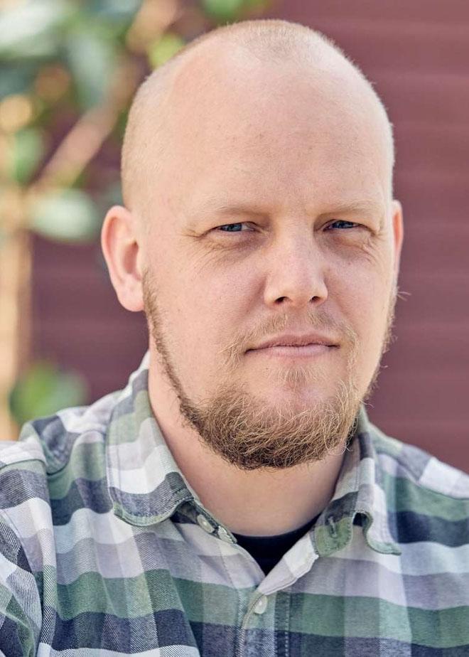 Jens Østerholt, Medarbejderbillede, Cropped