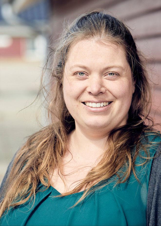 Lucia Korsbæk Falsted, Medarbejderbillede, Cropped
