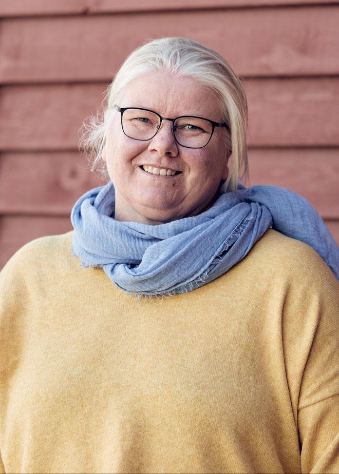 Sanne Christensen, Medarbejderbillede, Cropped